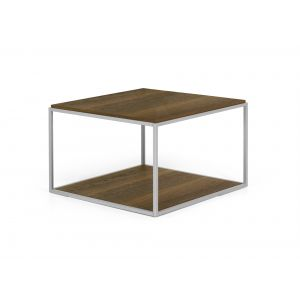 Carnia Wood Side Table