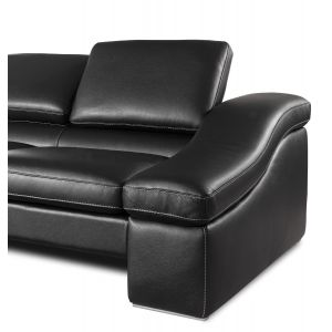 Varmo Leather Sectional Sofa
