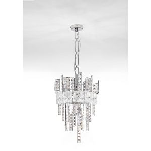 Crystalline Ceiling Pendant Light 24