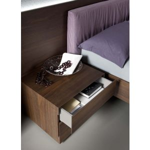 Edge Bed with Nightstands