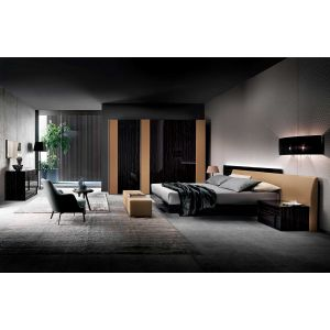 Nightfly Bed with Nightstands
