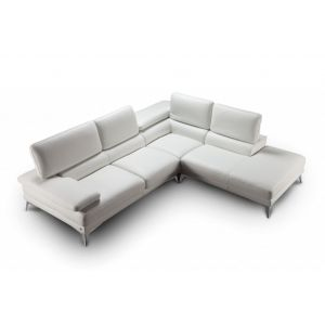 Barcola Leather Sectional Sofa