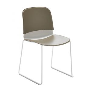 Stackable Sled Base Liù Chair by Midj