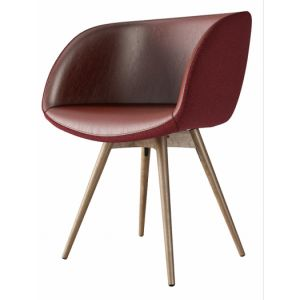 Sonny P-LG Small Armchair by Midj