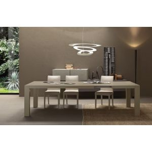 Jump Matte White Lacquered Extendable 237 Table