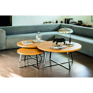 Dj Round Coffee Table by Midj