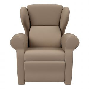 Botero Leather Recliner