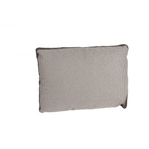 Houndstooth Rectangular Beige Pillow