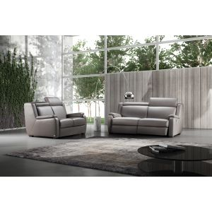 Prais Leather Sofa