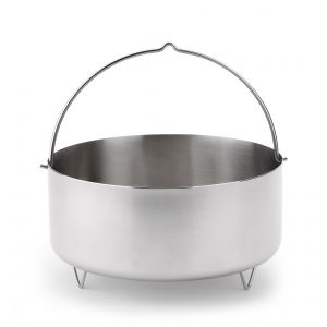 Pentole Steamer for pressure Cooker 24 cm