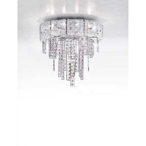 Crystalline Ceiling Light