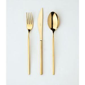 Flatware Unika Gold 5 Piece Setting