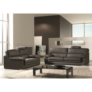 Sabre Leather Sofa