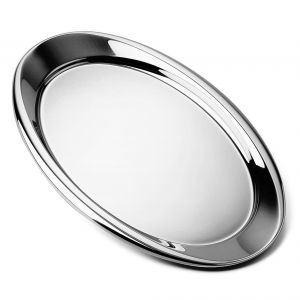 Bombè Stainless Steel Oval Tray