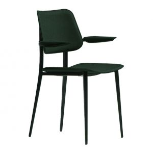 Chair with Armrests Joe P M by Midj
