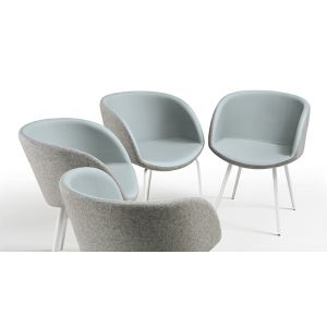Sonny P-Q Small Armchair by Midj