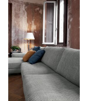 Franco Sectional Sofa with Chaise Longue
