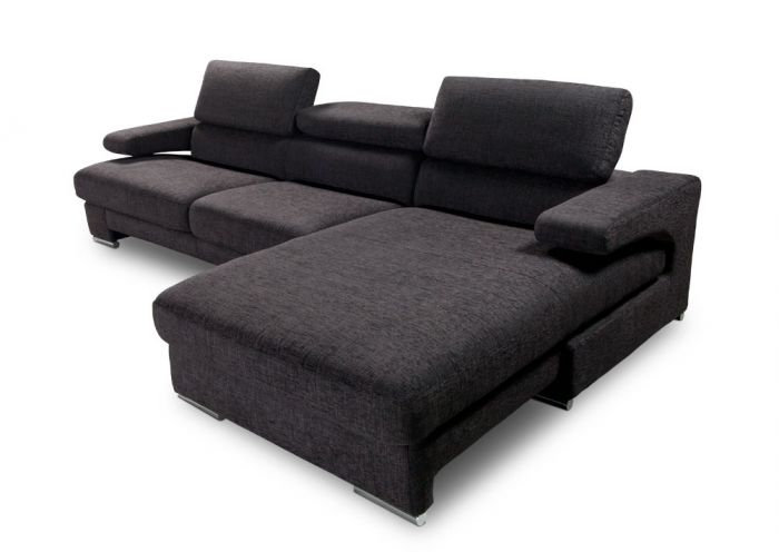 Opera Divani In Pelle.Opera Leather Sectional Sofa With Chaise Online Valitalia