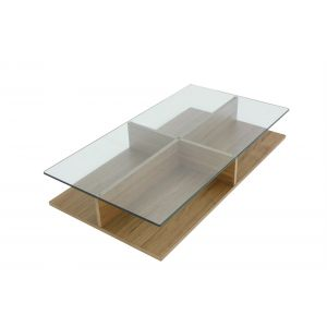 Badini Wood Coffee Table