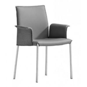 Nuvola PBL Chair with Armrests by Midj