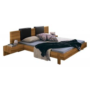 Gap Bed with Nightstands and Pillows
