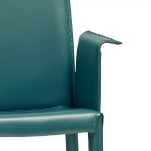 Nuvola PBLR Chair with Armrests by Midj
