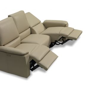 Artico Leather 3 Seats Sofa