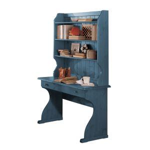 Cortina Colored Desk with Shelves
