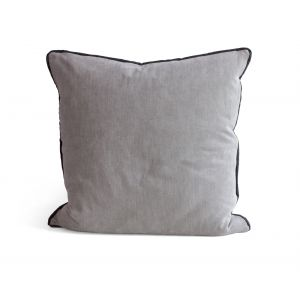 Piped Grey Pillow