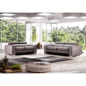 Desert Leather Reclinable Sofa